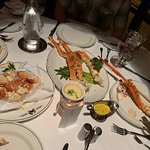 King Crab Cluster and Crab Claws, but full of wonderful, juicy meat
