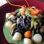 Squid Ink Pasta - Really good!