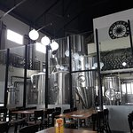 Brewing area and seating