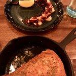 Octopus and the saganaki cheese