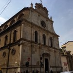 exterior façade on Corso Magenta