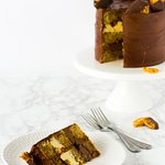 Staffordshire Honeycomb layer cake