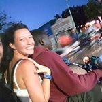In moto con Emmanuel