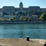 Castle seen from the other side of the River Danube