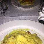 Agnolotti with Saffron and Prosciutto