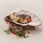 ostrica speziata - antipasto