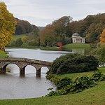 Stourhead Gardens Lake.