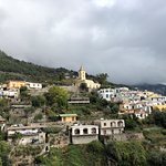 even on a cloudy day, the Amalfi Coast is MAGNIFICENT!