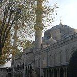 صورة فوتوغرافية لـ جامع السلطان أحمد