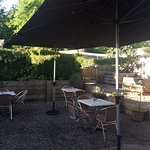 The pet friendly courtyard is now open for you to enjoy the great weather, food and coffee & don