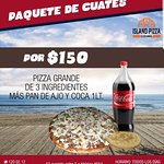 Island Pizza Foto