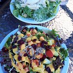 Caesar and Mango salad