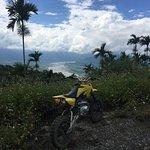 Views during a motorbike trip