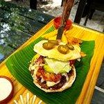 La deliciosa Hamburguesa Criolla