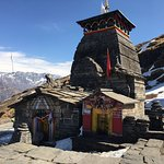 Tungnath temple in the morning