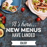 Our new menu is here for you to enjoy! We love it! And hope you all will too! see you soon!!