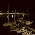 Notturna...Giovinazzo e le barche...