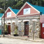Wharf Street Port Alfred. 1st building is the restaurant.