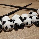 nos petits pandas porte bonheur