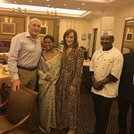 With Theresa and the Head Chef