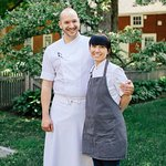 Executive Chef, Casey La Rue, and Pastry Chef, Amy La Rue