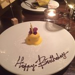 Complimentary birthday surprise!