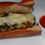 Wetland's Presser Sandwich: Sauteed Eggplant, Squash & Zucchini w/ your choice of cheese