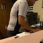 Rude Desk clerk /potential owner