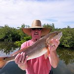 Great Redfish that put up one heck of a fight.