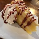 Limoncello mascarpone cake.