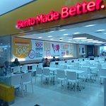 Hoka Hoka Bento, not full, but always has consumers.