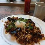 the veggie hash, my favorite breakfast dish