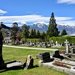 View of The Remarkables from the Cemetery