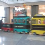 Toy Train in the Mall for Kids