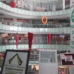 The Interior of the Mall