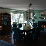 Common/dining room where breakfast is served.