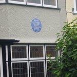 Outside John Lennon's house