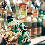 Large selection of Tequila and Mezcal