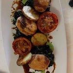 patate pomodori e spinaci