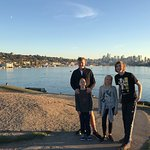 Great view of Seattle from Gas Works Park