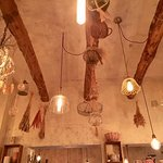Loved the ceiling and light fixtures