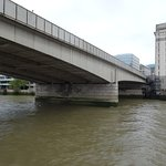 London Bridge (a steel and concrete bridge with a history)