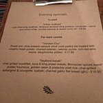 Excellent October menu! Cannot fault this restaurant :)