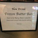 Butter Beer Sign!