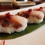 Isaki (Chicken Grunt) Nigiri
