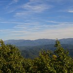 Smoky Mountains before changing the colors