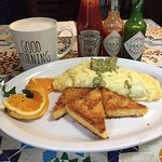 My omelet at Morning Glory Restaurant