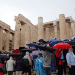 Photo 1. Drenched in Athens by Hurricane Zorba