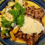 Steak ala Parilla