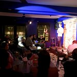 Our front room - hosting stand-up comedy nights